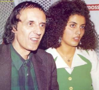 Sonia Topazio con Dario Argento