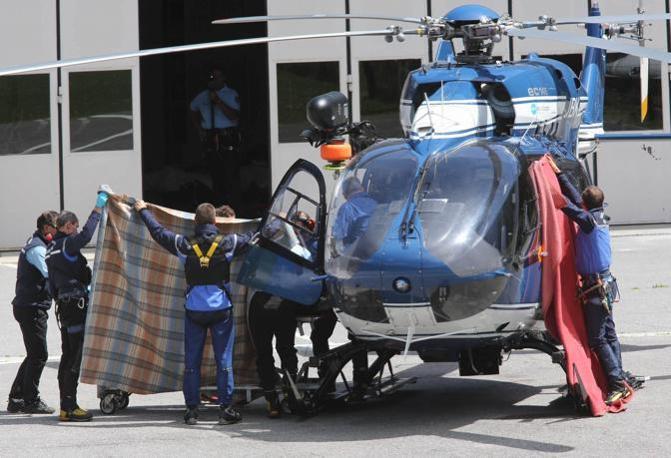 Elicottero Monte Bianco : La tragedia del monte bianco