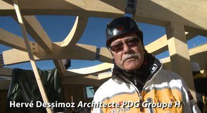 Il progettista Hervé Dessimoz