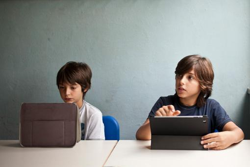 Alunni della scuola Media Chelini di Lucca (foto Elisa Figoli)