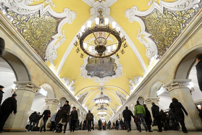 Komsomolskaya, a Mosca, è seconda