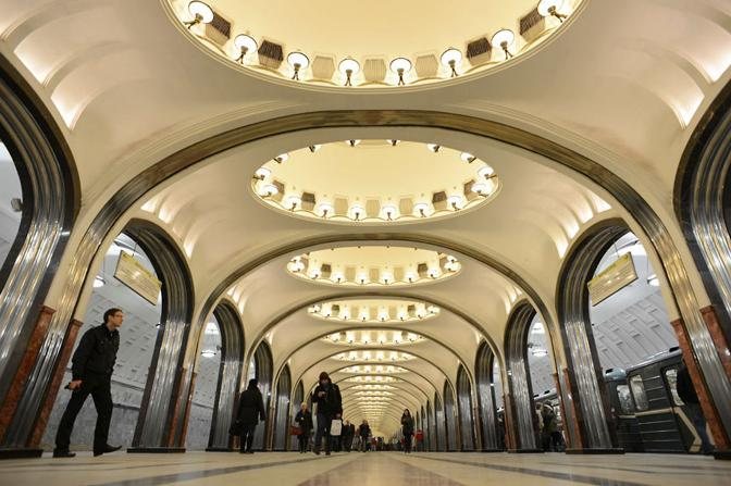 Ritorno a Mosca, fermata Mayakovskaya
