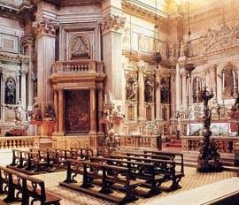 Napoli, l'interno della Cappella del Tesoro di San Gennaro