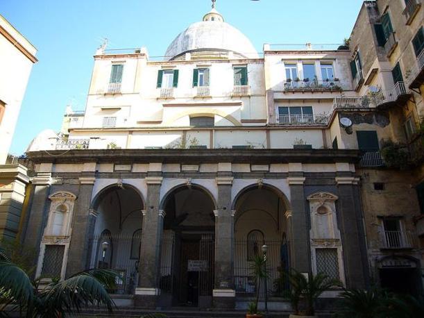 Napoli, Chiesa dell'Ascensione, a Chiaia