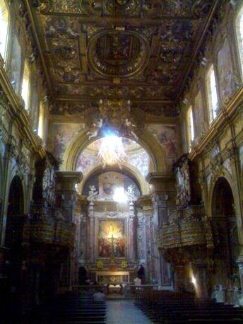 Napoli, chiesa San Gregorio Armeno, interno