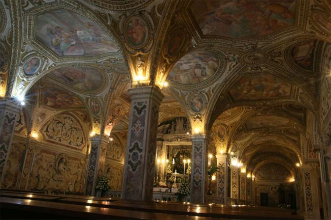 Salerno, la Cattedrale, la cripta