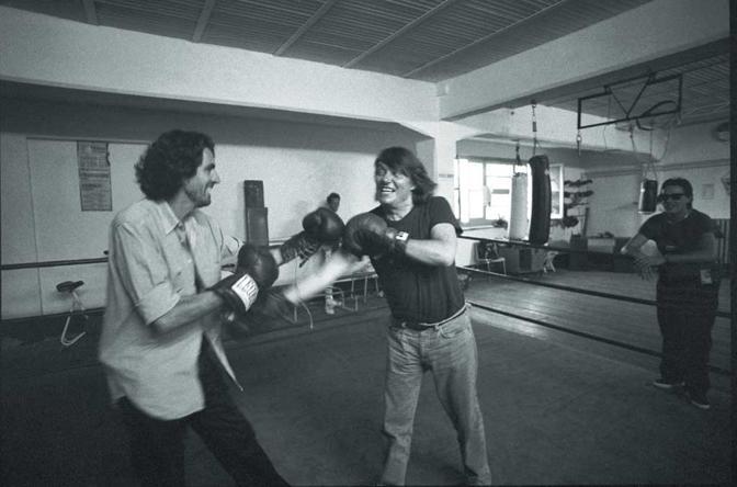 (1991 Fabrizio De André con Pepi Morgia - Foto di Giovanni Pinna)