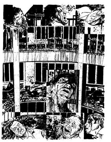 """""""Un fascio di bombe"""" di Milo Manara: la strage"""