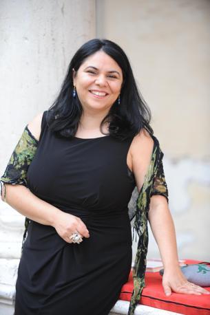 Michela Murgia, trionfatrice al Campiello con il romanzo «Accabadora» (Ansa)