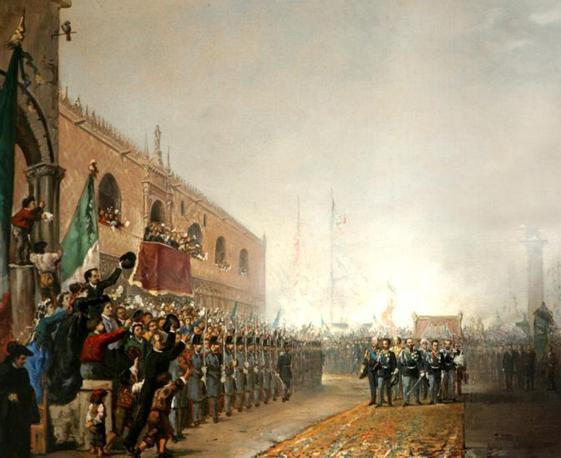 Mostra su «Vittorio Emanuele II, Il Re Galantuomo»: Ingresso trionfale