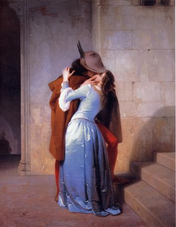 Mostra su «Vittorio Emanuele II, Il Re Galantuomo»: Francesco Hayez, Il bacio, 1859