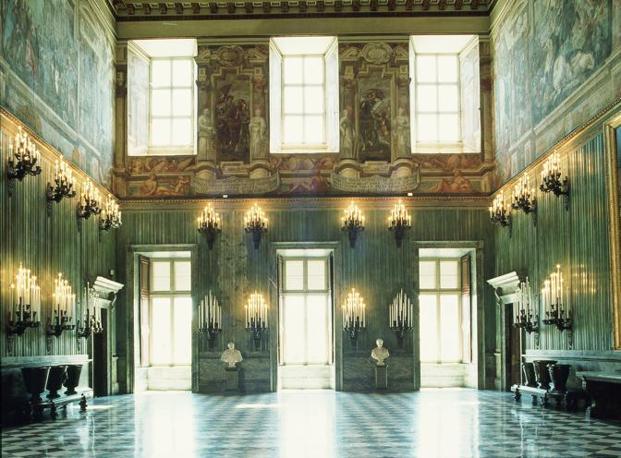 Mostra su «Vittorio Emanuele II, Il Re Galantuomo»: salone degli Svizzeri