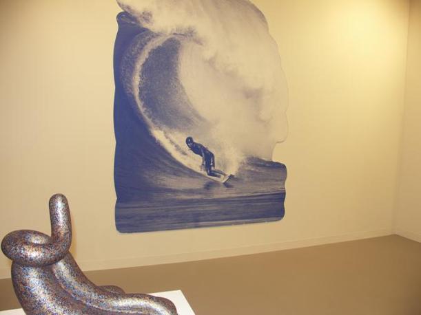 Katharina Fritsch Postkarte (Surfer)