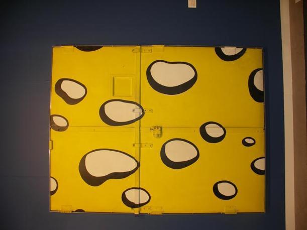 Roy Lichtenstein Swiss Cheese Doors, 1980