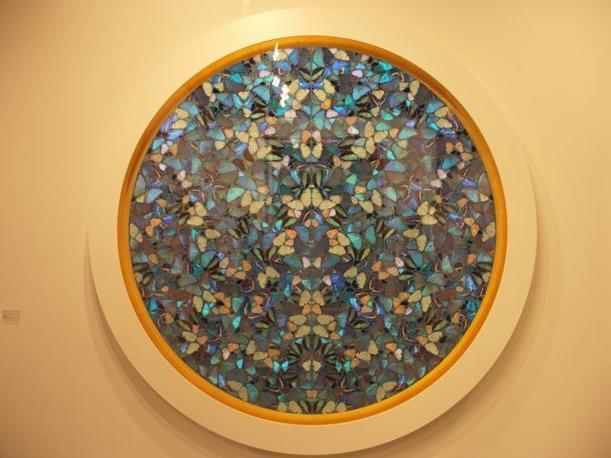 Le famose farfalle di Damien Hirst
