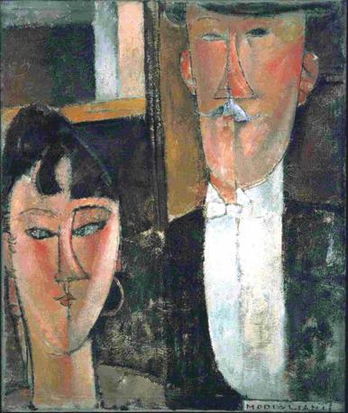 Amedeo Modigliani, Les Mariés, capolavoro da venti milioni di dollari.