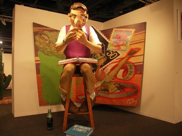 Il ragazzo che guarda i francobolli (The brain trap) di Robert Williams