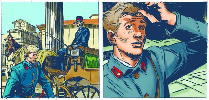 Ancora due vignette di Carlo Ambrosini