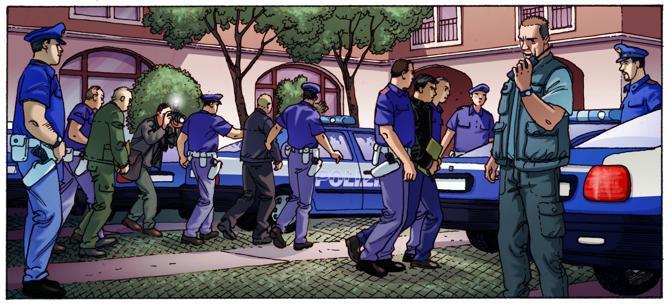 Una vignetta di Marco Nizzoli