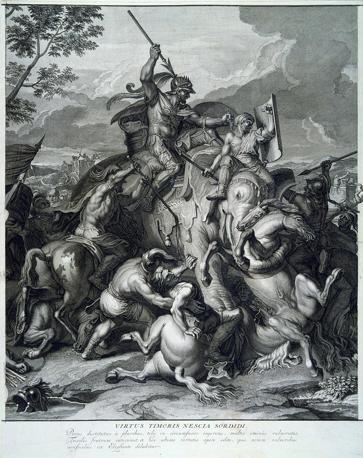 Bernard Picart (1673-1733), da Charles Le Brun,
