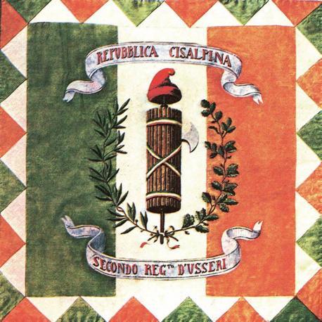 1800, agosto - SECONDA REPUBBLICA CISALPINA -
