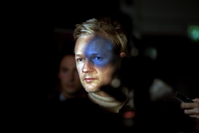 Julian Assange, fondatore di Wikileaks - Foto di Seamus Murphy (Irlanda), secondo classificato nella categoria «People in the News»