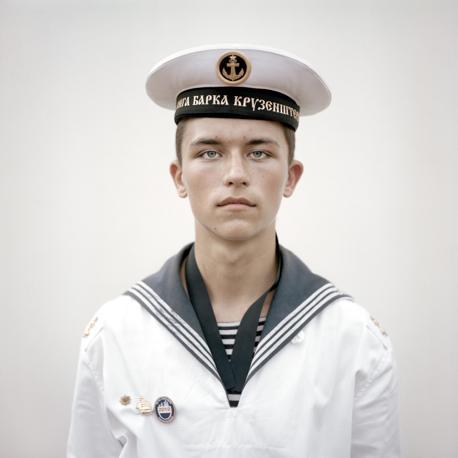 Kirill Lewerski, cadetto sulla nave russa Kruzenshtern - Foto di Joost van den Broek (Olanda), secondo classificato nella categoria «Portraits Single»