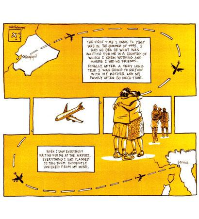 MIGRATIONS - A STORY FOR HISTORY A FUMETTI