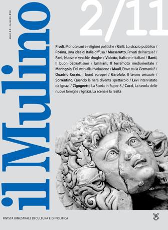 Una copertina recente de «Il Mulino»