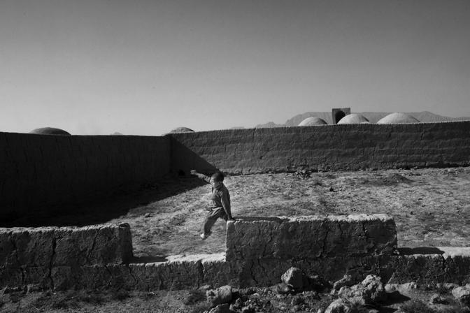 Afghanistan 2011, un villaggio vicino a Farah