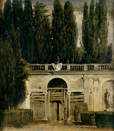 Una mostra tra parigi e madrid la pittura di veduta a for Casa classica villa medici