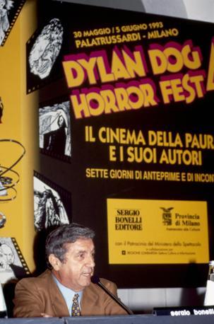 Sergio Bonelli nel 1994 (Milestone Media)