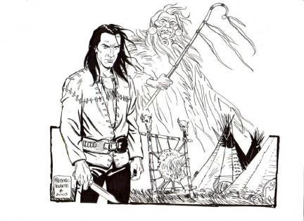 Magico Vento è una delle ultime creature di Sergio Bonelli. E forse rappresenta fino in fondo il sogno del suo scomparso editore: unire in un solo personaggio le sue due grandi passioni, magia e West