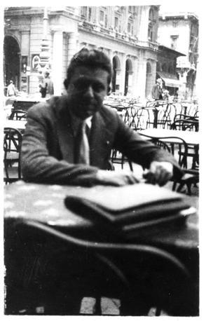 Eugenio Montale, foto di gioventù