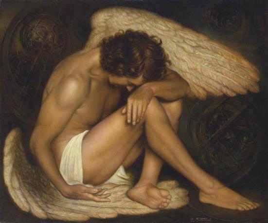 Angeli e arte for Quadri con angeli