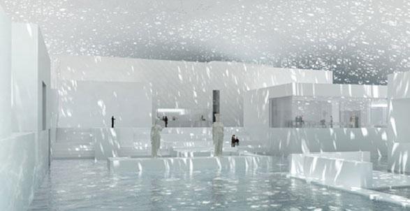 Il Louvre di Abu Dhabi verrà completato entro il 2012. E' parte del complesso culturale di Saadiyat Island, dove saranno impegnati anche l'americano Frank Gehry, padre del Guggenheim di Bilbao, e l'anglo-irachena Zaha Hadid, celebre in Italia per il Maxxi di Roma