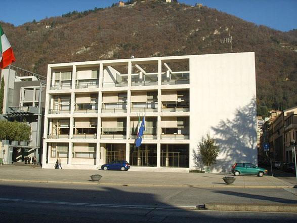 La Casa del Fascio di Como, opera di Giuseppe Terragni