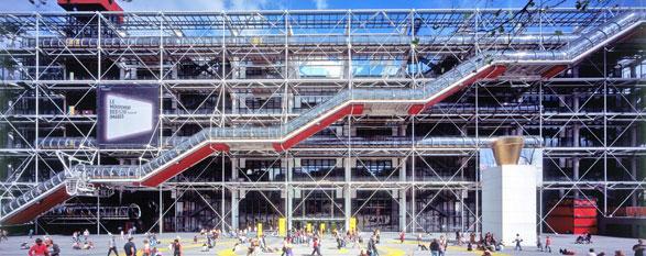 Richard Rogers, con Renzo Piano firmò negli anni settanta il Centre Pompidou a Parigi, ormai un'icona culturale della capitale francese
