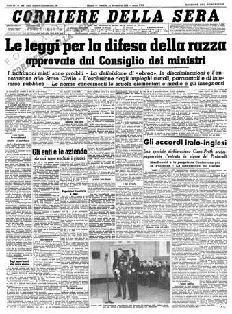Storia Del Corriere Della Sera