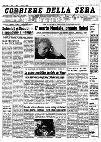 13 Settembre 1981