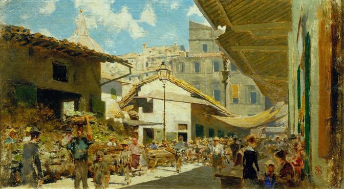 Telemaco Signorini (Firenze 1835 - Firenze 1901)