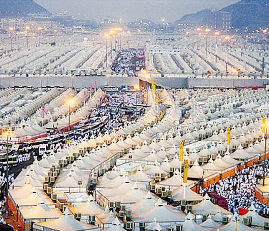 La tendopoli di Mina, che durante l?Hajj ospita 2 milioni di fedeli