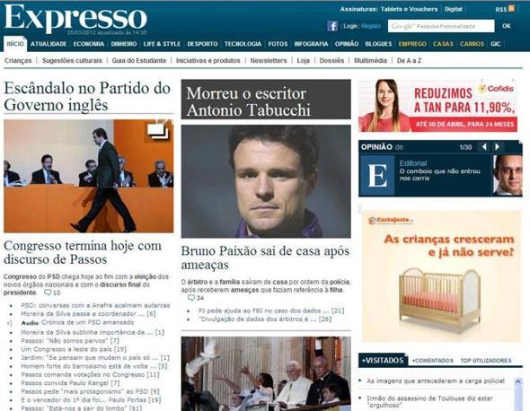 Il settimanale Expresso
