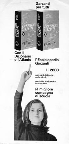 L'Enciclopedia tascabile Garzanti compie 50 anni: ecco alcune delle pubblicità di una volta