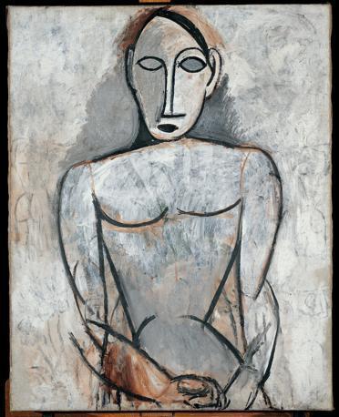 """(Etude pour """"Les demoiselles d'Avignon"""")"""