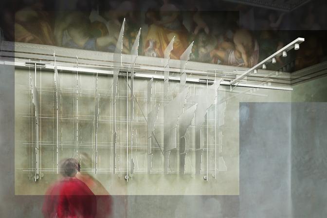 Rendering della ristrutturazione del Palladio Museum a cura dello Studio Scandurra Milano