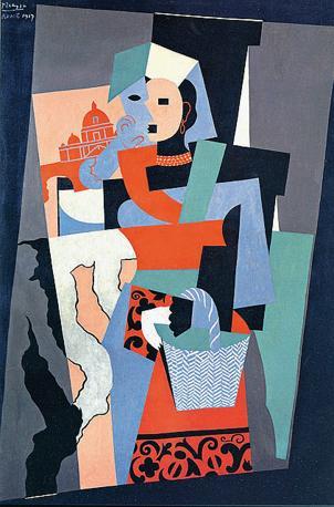 «L?italiana» di Picasso (1917)