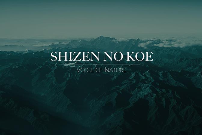 Shizen no koe, un'opera realizzata da La Spada e Sakamoto