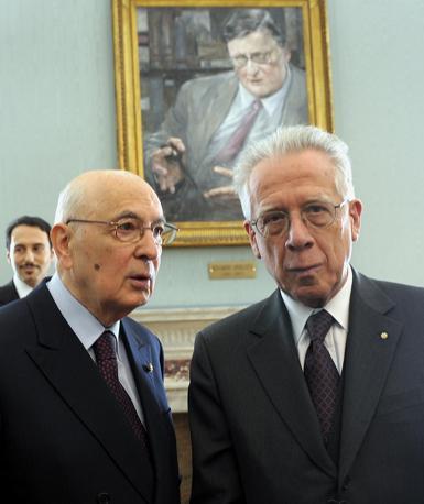 Morto Tommaso Padoa-Schioppa. Con il presidente Giorgio Napolitano