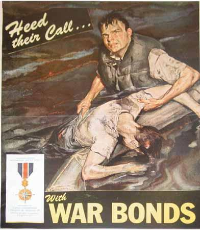 «Ascolta le loro invocazioni con i buoni di guerra» (Gran Bretagna, Seconda guerra mondiale)